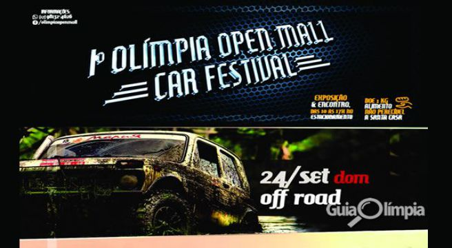 1º Olímpia Open Mall Car Festival